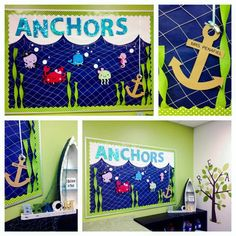 """Under the Sea"" Classroom Displays"