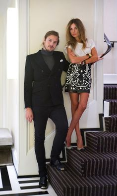 Love and Wardrobe - Louis Leeman and Erica Pelosini