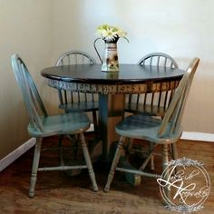French Country Table from Yesteryear