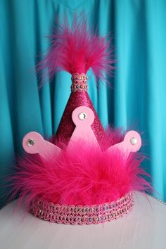 Princess Birthday Party Hat Idea