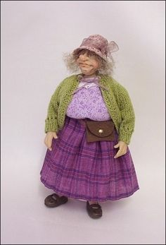 adorabella dolls | 12th scale Charactor Doll ~ The Old Shopkeeper by adora-bella-minis,