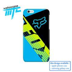 Fox Racing Savant Blue Phone Case | Apple iPhone 5 5s 5c 6 6s 7 Plus Samsung Galaxy S4 S5 S6 S7 EDGE Hard Case. Fox Racing Savant Blue Phone Case