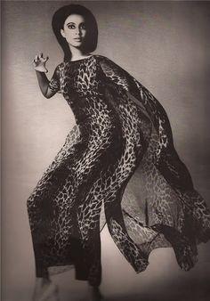 Donyale Luna for Harper's Bazaar (April 1965)