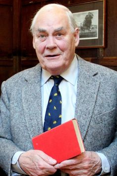 Sir Jay Tidmarsh with the copy of Ashenden. Courtesy: The Guardian/Taunton School/PA