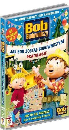 Bob Budowniczy: Jak Bob został budowniczym [DVD] ( Bob the Builder ) - Sarah Ball za jedyne 17.99 zł - dvdmax.pl