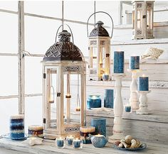 Pier 1 Lanterns bring romantic ambience in or outdoors