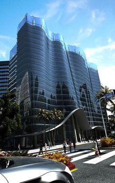 Modern Hotel Design in Dubai by Modern Zen Architecture