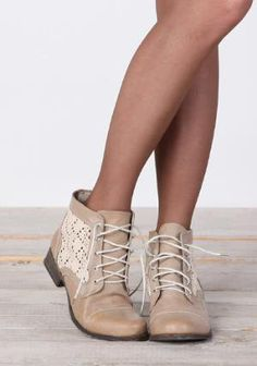 A Walk in Lace Crochet Boots - 45.00 : ThreadSence.com, Your Spot For Indie Clothing & Indie Urban Culture