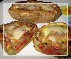 A dieta con ww: BARQUITOS DE PATATA, 4.5pt por persona.