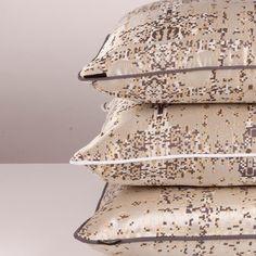 Beatwoven | Decorex International. DiamondDaze cushions Interior Design Shows, Bed Pillows, Cushions, Pillow Cases, Vibrant, Pillows, Throw Pillows, Toss Pillows, Pillow Forms