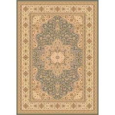 Home Dynamix Majestic Green 5 ft. 2 in. x 7 ft. 6 in. Area Rug - Model # 2-H1128A-400 at The Home Depot
