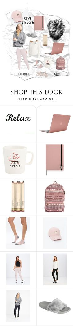 """""""Finals Week"""" by recklessgirls on Polyvore featuring Incase, ADAM, Kate Spade and Billabong"""