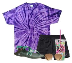 """""""Camp"""" by flroasburn ❤ liked on Polyvore featuring Patagonia, Chaco and Stella & Dot"""