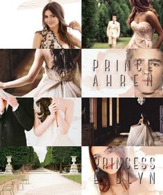 The Selection Series the heir Prince Ahrea and princess Eadlyn life at the palace takes place before the heir when they are kids