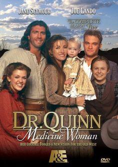 Dr. Quinn, Medicine Woman 1993-1998. ¡Yo lo veía cuando era chica! :)
