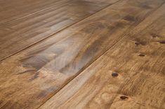 Hand-scraped oak