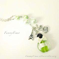 Vert Parfum necklace