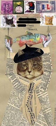***For The Love of Cats*** *********Mail Art*********: #2 ... from Bifidus Jones
