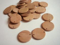 Unfinished natural wood Geometric Tiles,Wood Circle Tile for Jewelry,Geometric Jewelry,