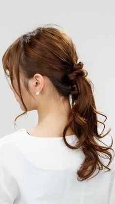 Curled Hairstyles, Easy Hairstyles, Hair Arrange, Hair Videos, Hair Inspiration, Curls, Hair Cuts, Hair Beauty, Long Hair Styles