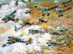 Air Combat over Jarama, Spain  SCW