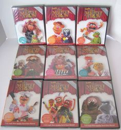 Best of the Muppet Show 25TH Anniversary 1 - 9 DVDs Star Wars Alice Cooper