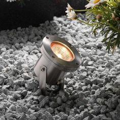Techmar Plug and Play - Arigo Stainless Steel Garden Spotlight