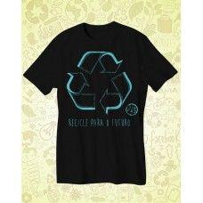 Camisa AMA TERRA Preta Recicle - ATA065