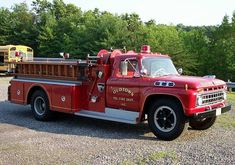 1966 Ford F750 Fire Truck