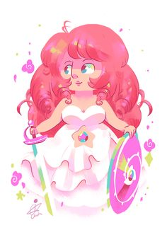 Whoop~adding Rose to Lapis and Pearl~might just do Amethyst and Garnet then leave it there…or maybe Connie too, cause I haven't done anything with her yet XD heh