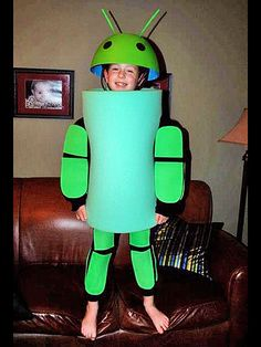 Halloween Costume: Android