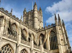 Abadía de Bath al suroeste de Inglaterra