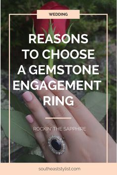 Sapphire, Ruby, or Emerald- there are many traditional gemstone alternatives to a diamond engagement ring. This trend isn't just for First Lady Jackie O & Princess Kate Middleton. Read more now or pin & save for later!