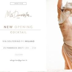 Mes Demoiselles New Opening in Milan
