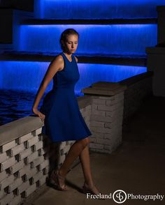 Blue is my favorite...and Gabby wearing blue with blue water is the best!!