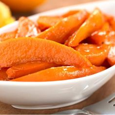 Instead of: #Thanksgiving Candied Yams  Serve: These Glazed Sweet Potatoes