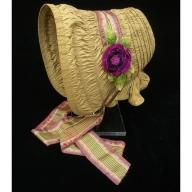 Bonnet, ca. 1840; CW 1996-362