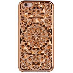 Gold Kaleidoscope Case FELONY CASE found on Polyvore featuring accessories, tech accessories, electronics, phone and phone cases
