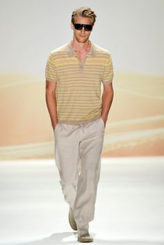 Perry Ellis Spring 2012 Menswear - Collection - Gallery - Style.com