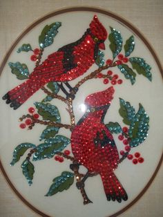Vintage Quality at its best! So Cardinal Chic! Perfect for Cottage or cabin Decor!