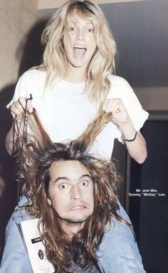 ♡ — tommy and heather were like rlly cute Hair Metal Bands, 80s Hair Bands, Metal Hair, Black Dress Red Carpet, Grunge Hippie, Music Collage, Heather Locklear, Vince Neil, Celebrities Then And Now