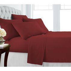 00ed35d52a228 1800 Series Ultra Soft Double-Brushed Microfiber 6 Piece Bed Sheet Set – 25  Main