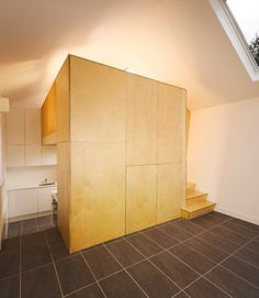 Cottage Cubed - Remodel of a 25sqm Fishermans Cottage. - contemporary - living room - dublin - DMVF Architects