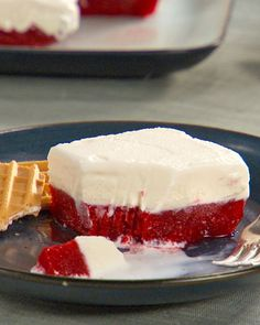 Strawberry-Vanilla Ice Cream Cake