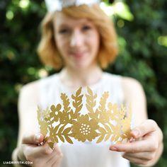 DIY Fairy Paper Crown