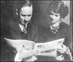 Robert Benchley & Dorothy Parker, 1919.