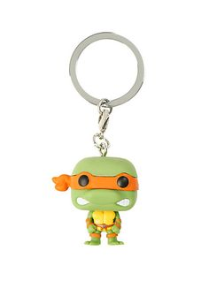 Funko Teenage Mutant Ninja Turtles Pocket Pop! Michelangelo Key ChainFunko Teenage Mutant Ninja Turtles Pocket Pop! Michelangelo Key Chain,
