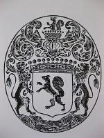 """La Reliure: l'écureuil de Nicolas Fouquet, les armes """"animalières"""" parlantes des biblophiles.- Nicolas Fouquet tient sa revanche après le transfert du Palement à Toulouse, à la fin de la Fronde: lors du lit de Justice du 22 octobre 1652, après la lecture de l'acte d'amnistie, Fouquet prononce un long discours louant la clémence de son roi et fustigeant ses collégues restés fronder à Paris. Par la suite il se montrera impitoyable envers les partisans de Condé."""