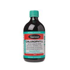 chlorophyll is an internal cleanser - LOVE it