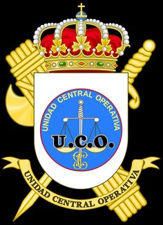 Archivo:Coat of Arms of the Guardia Civil Operations Command. Public Security, Military Insignia, Mystery Of History, Coat Of Arms, Civilization, Liberty, Spain, Army, Christmas Ornaments